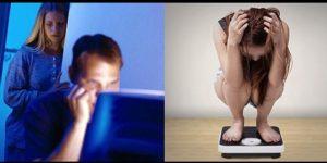 Просмотр порно мужчинами стимулирует нарушения пищевого поведения у женщин