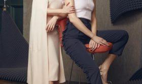 Сестры Михалковы в образе Аллы Пугачевой снялись в лукбуке обувной марки