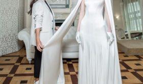 На фоне слухов о разводе Алсу представила свадебное платье собственного дизайна