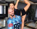 Дочери Ксении Бородиной и Оксаны Самойловой заняли первые места на одном конкурсе по гимнастике